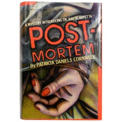 """Post-Mortem by Patricia D. Cornwell"", Signed First Edition"