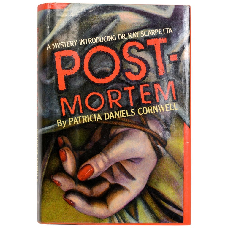 """Post-Mortem by Patricia D. Cornwell"", Signed First Edition For Sale"
