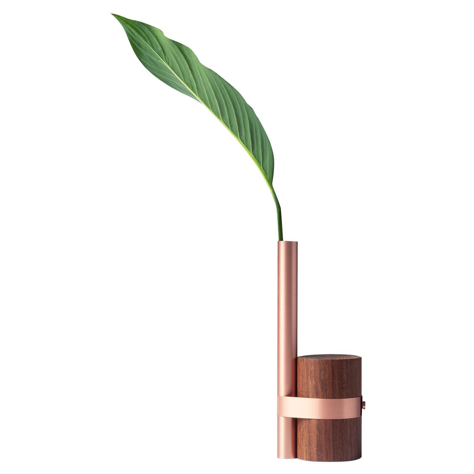 Post-Tropical Vase in Copper by Wentz, Brazilian Contemporary Design