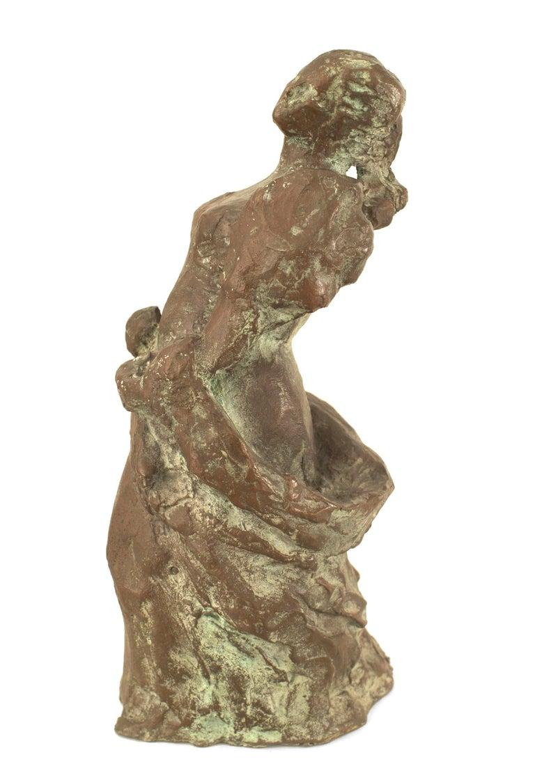 Modern Post-War Abstract Bronze Sculpture For Sale