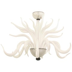 Post-War Design Italian Venetian Murano Chandelier