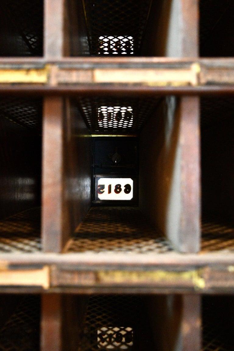 Bronze Postal Mailbox Unit For Sale