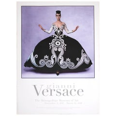 Poster Gianni Versace Metropolitan Museum of Art Photo by Irving Penn, 1997
