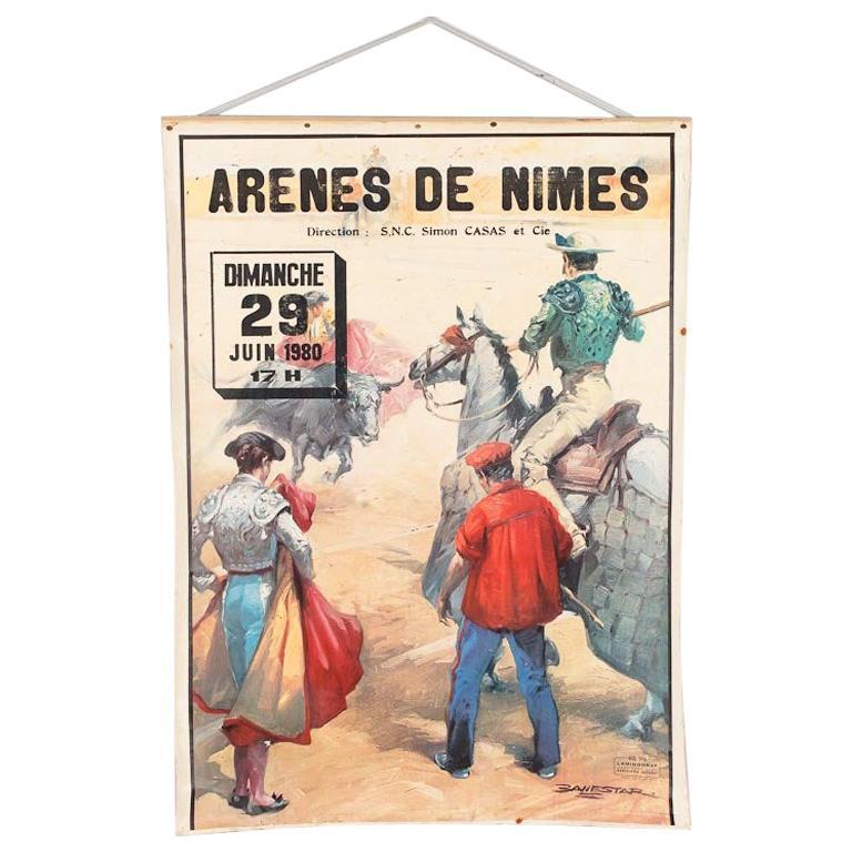 Poster of Spanish Bullfight, 1980s