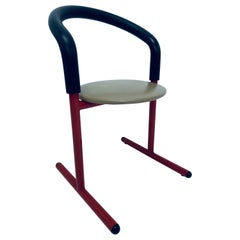 Postmodern Amisco Chair or Stool with Foam Back