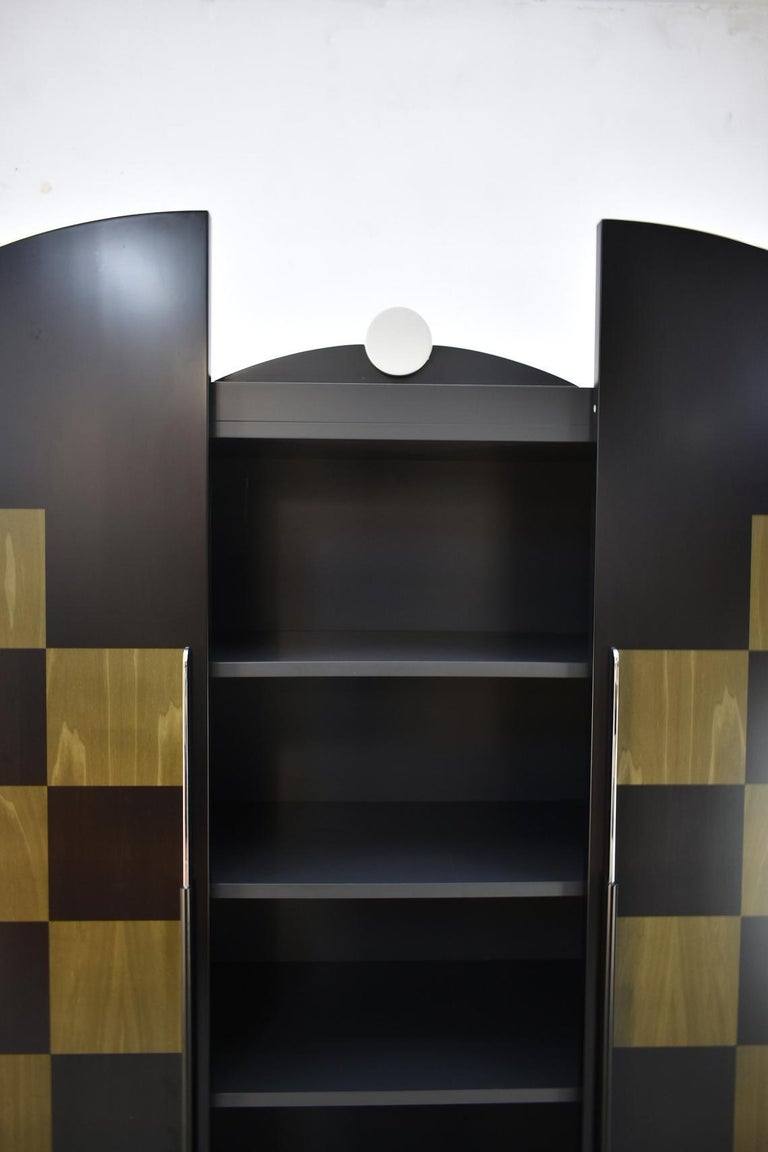 Post-Modern Postmodern Architectural Cabinet 'Cubic' by Peter Maly, Germany, 1980s For Sale