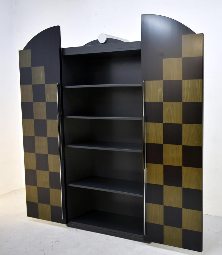 Postmodern Architectural Cabinet 'Cubic' by Peter Maly, Germany, 1980s For Sale 2