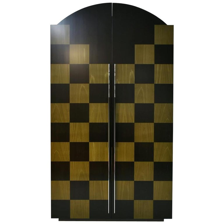 Postmodern Architectural Cabinet 'Cubic' by Peter Maly, Germany, 1980s For Sale