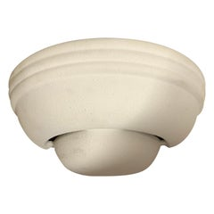 Postmodern Art Deco Revival Ceramic Up or Down Light Wall Sconce