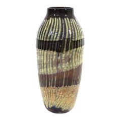 Postmodern Art Studio Glass Vase