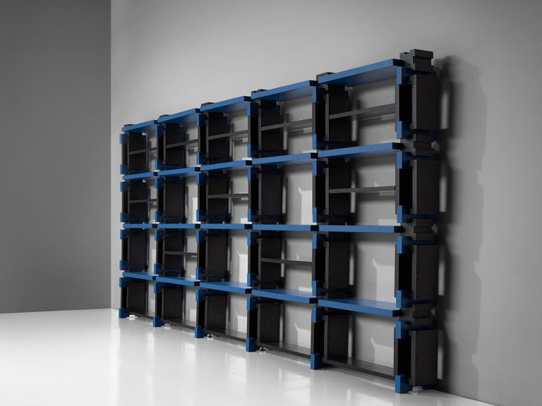Italian Postmodern Bookcase, Attributed to Michele De Lucchi For Sale