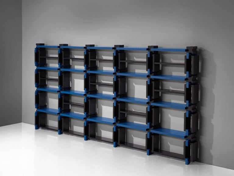 Postmodern Bookcase, Attributed to Michele De Lucchi In Good Condition For Sale In Waalwijk, NL