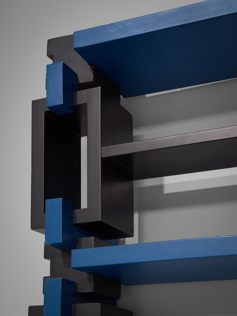 Postmodern Bookcase, Attributed to Michele De Lucchi For Sale 2