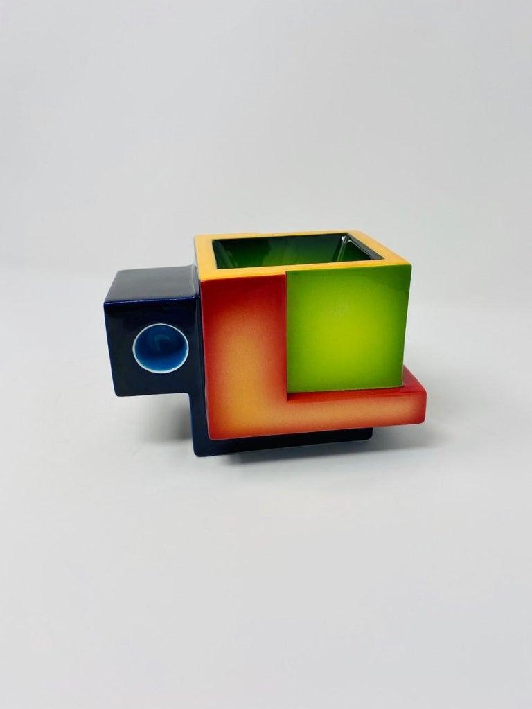 Postmodern Ceramic Fred Stodder Geometric Mug 3