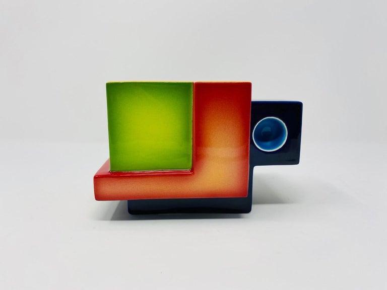Postmodern Ceramic Fred Stodder Geometric Mug 1