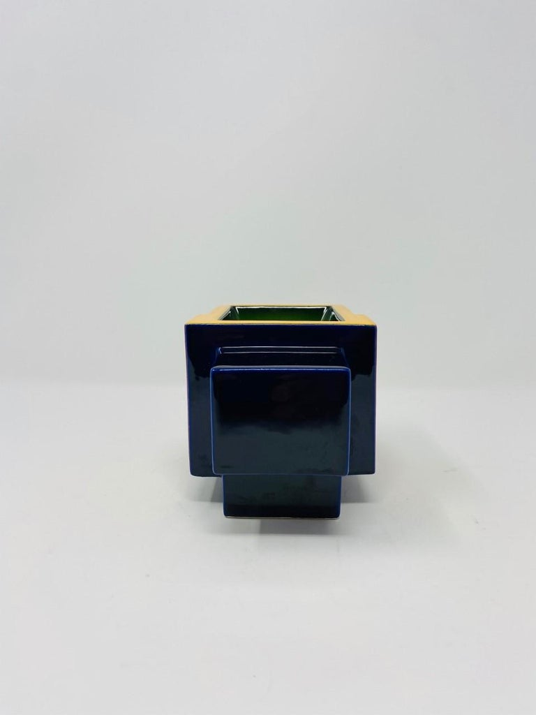 Postmodern Ceramic Fred Stodder Geometric Mug 2