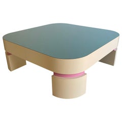 Postmodern Custom Square Coffee Table