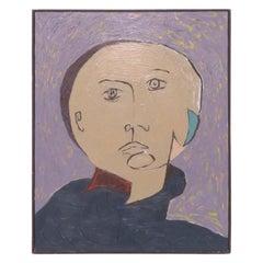 Postmodern Dadaist Style Portrait by Steven Dunning