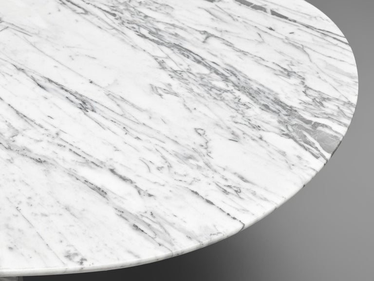 Postmodern Dining Table in Marble For Sale 1