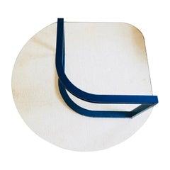 Postmodern Flat-Bar Coffee Table by Design Institute of America