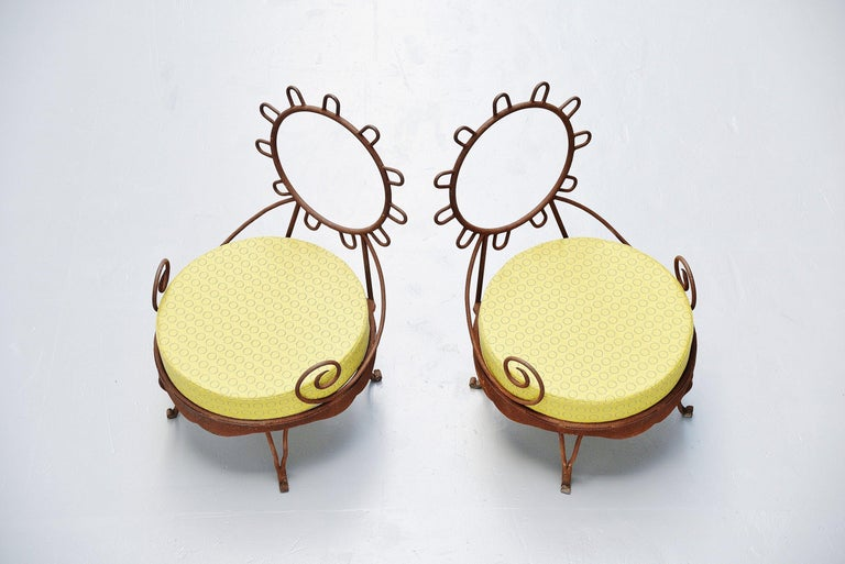 Post-Modern Postmodern Garden Lounge Chairs, Italy, 1980 For Sale