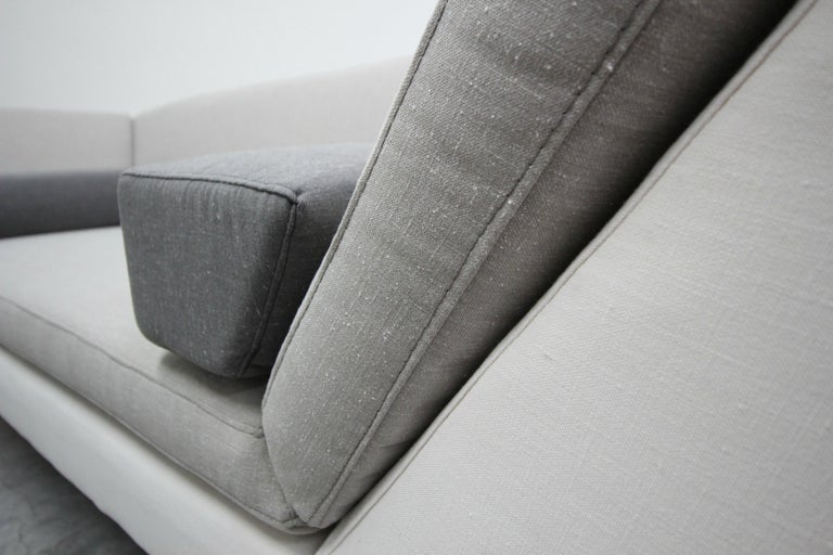 Postmodern Geometric Sofa by Thayer Coggin In Excellent Condition For Sale In Las Vegas, NV