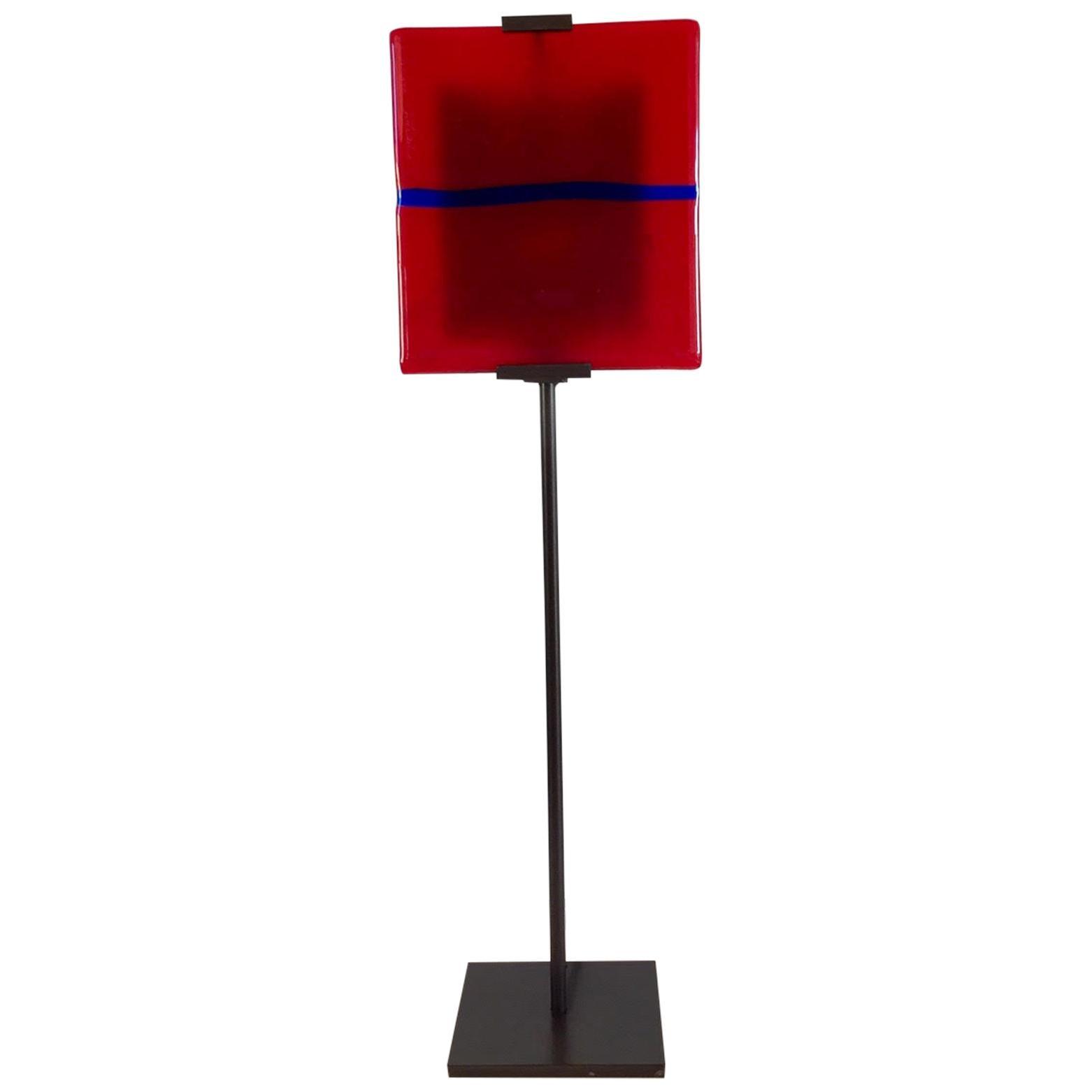 Postmodern Glass Tile Lamp