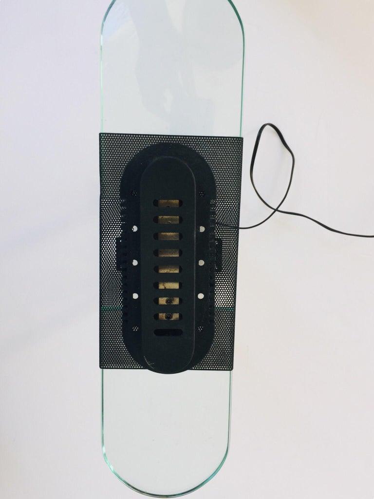 Postmodern Halogen Desk Table Lamp by Robert Sonneman for George Kovacs, 1980s For Sale 4