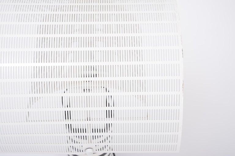 Postmodern Italian Black and White Table Lamp 'Shogun' by Mario Botta for Artemi For Sale 5