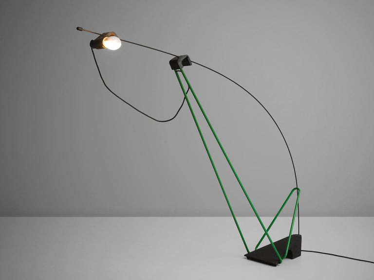 Post-Modern Postmodern Italian Geometric Floor Lamp For Sale
