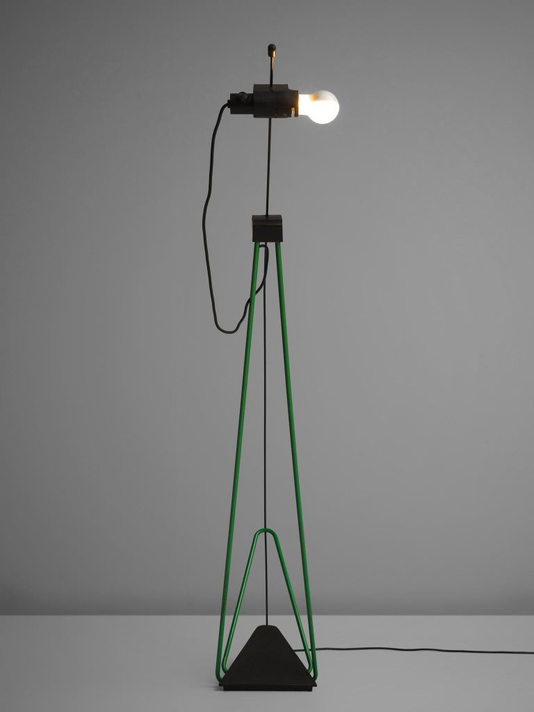 American Postmodern Italian Geometric Floor Lamp For Sale