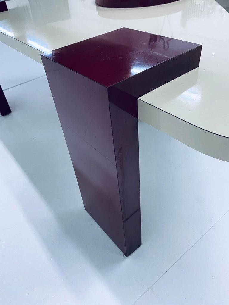 Postmodern Laminate Coffee Table, 1980s For Sale 4