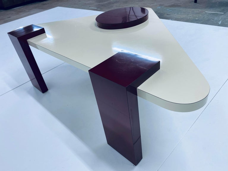 Postmodern Laminate Coffee Table, 1980s For Sale 3