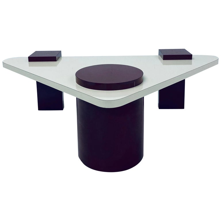 Postmodern Laminate Coffee Table, 1980s For Sale
