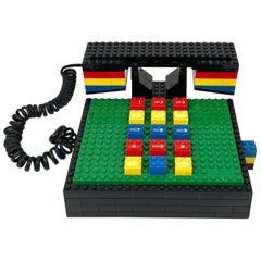 "Postmodern ""LEGO"" Telephone Phone by Tyco"