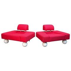 Postmodern Lounge Chairs