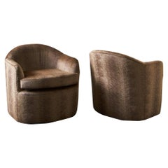 Postmodern Lounge Chairs, Pair