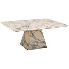 Postmodern Marble Coffee Table