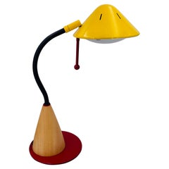 Postmodern Memphis Era Multidirectional Desk Table Lamp