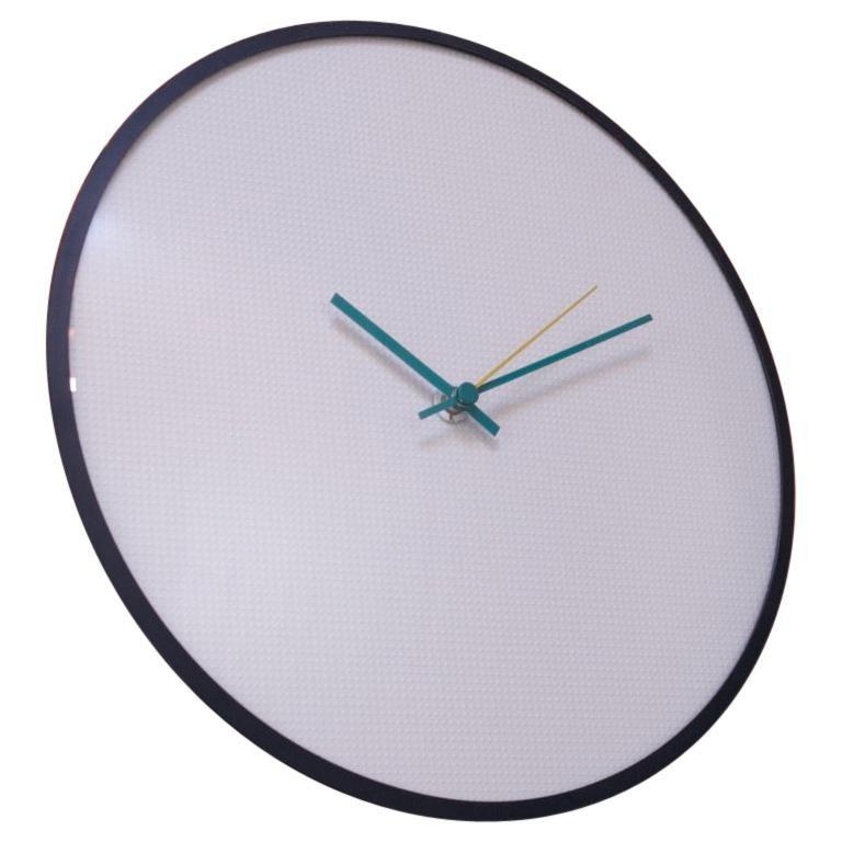"Postmodern Memphis-Style ""Milano Series"" Wall Clock"
