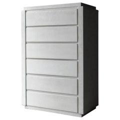 Postmodern Minimalist Plaster 6-Drawer Dresser