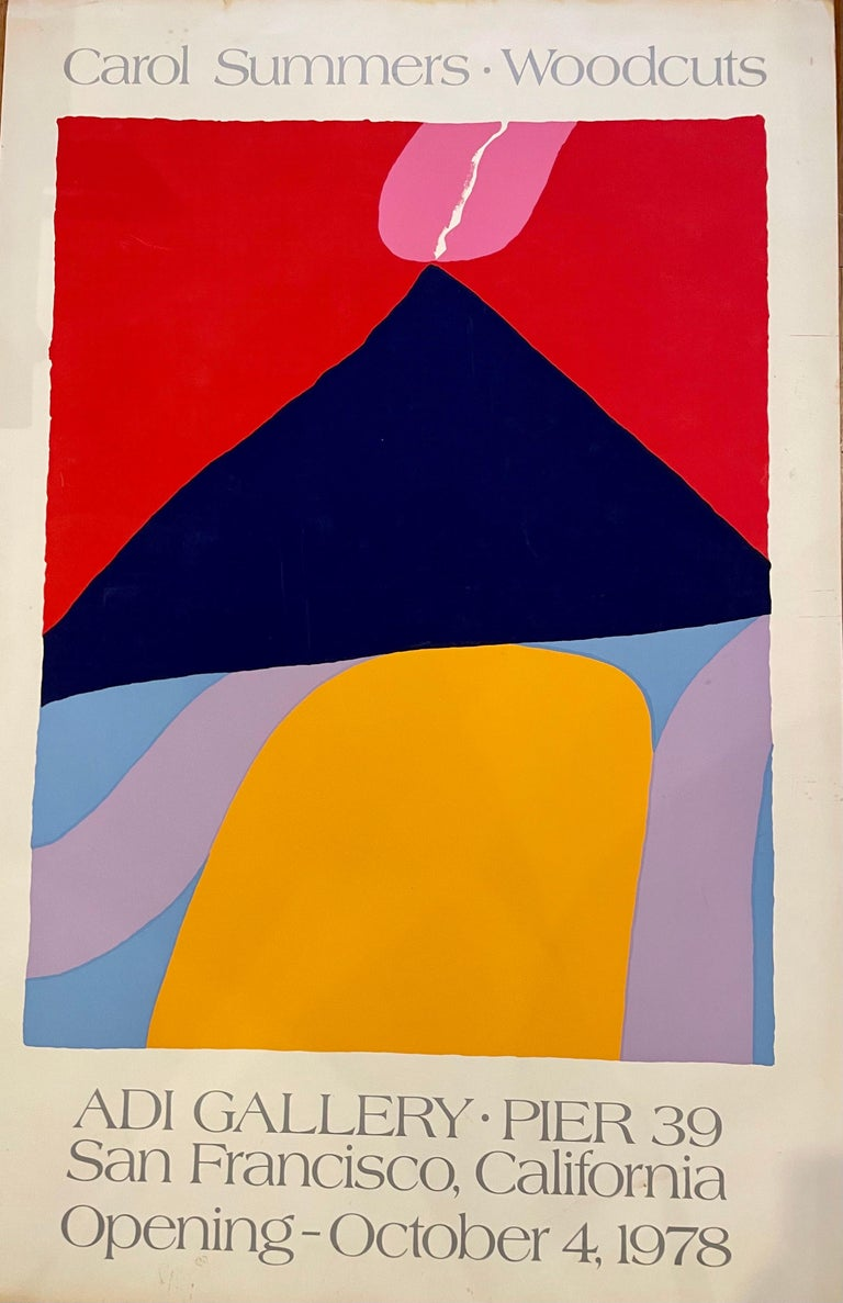 Beautiful colors on this unframed poster lithograph printed on heavy weight art paper, embossed watermark nice vibrant colors, very collectible, some light marks at the bottom edge as shown that can be covered with matting , sold as/is ready to