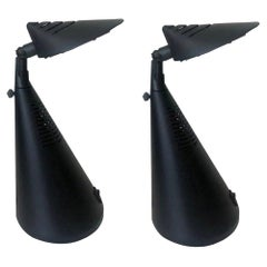 "Postmodern Pair of ""Scorpio"" Table Lamps by Fase, Madrid, 1980s"