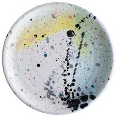 Postmodern Peter Shire Ceramic Plate 1980 Memphis