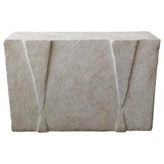 Postmodern Plaster Console Table