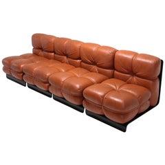 Postmodern Rare 'San Martino' Sectional Sofa for Full by Carla Venosta