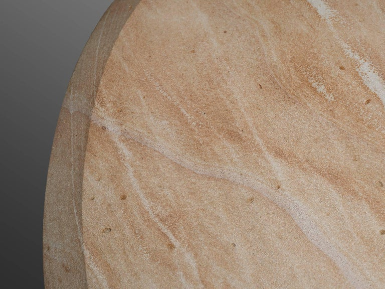 Postmodern Sandstone Coffee Table For Sale 1