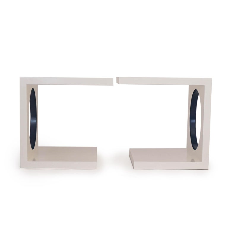 American Postmodern Side Tables For Sale