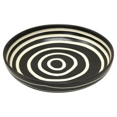 Postmodern Studio Pottery Charger Plate