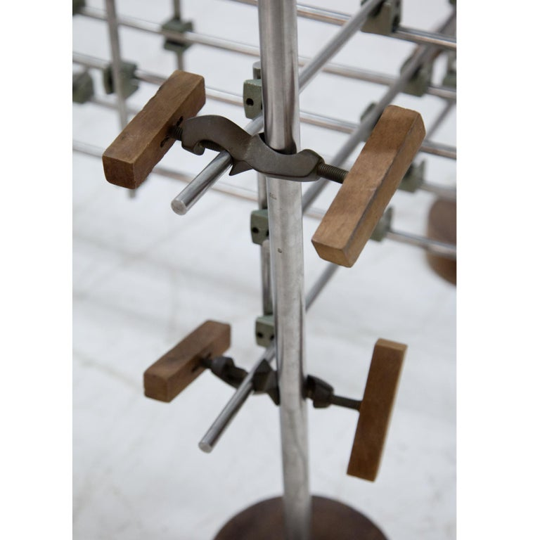 Steel Postmodern Table, Late 20th Century For Sale